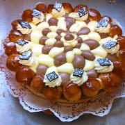 Le saint-Honoré  Rhum- Chocolat
