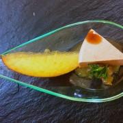 Cuillères foie gras